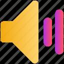 audio, full, media, sound, speaker, volume