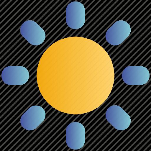 Brightness, light, media, sun, sunny icon - Download on Iconfinder