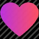 favorite, heart, like, love, media