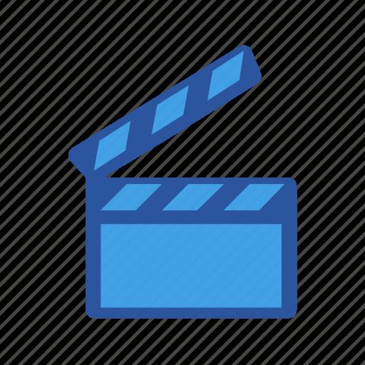 clap, creative, film, filmclap, movie, shortfilm, video icon