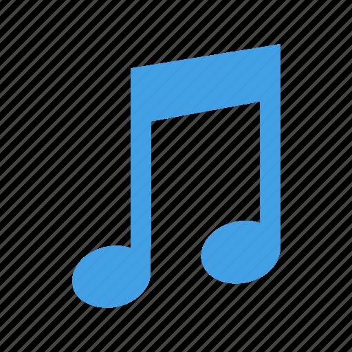 audio, audiotone, music, musicdoubletone, tone icon