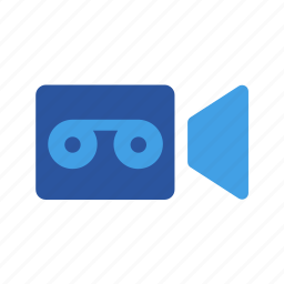 film, record, video, videorecording, videoshooting icon