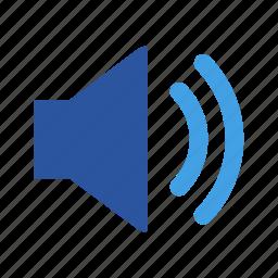 add, audio, plus, sound, speaker, volume icon