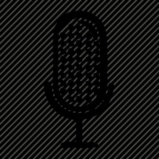 audio, media, microphone, multimedia, technology, video icon
