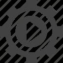 clip, media, playback, setting, settings