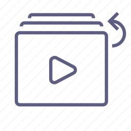 add on, download, load, save, upload, video, watch later icon