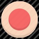 circle, control, media, player, record icon