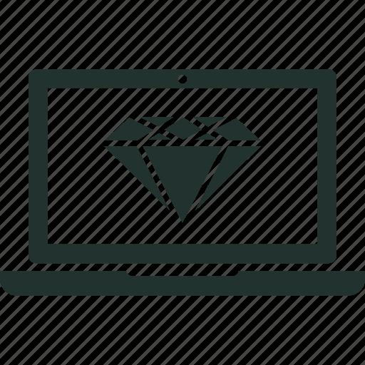 App, clean, code, development, line, website icon - Download on Iconfinder