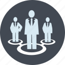 career, community, line, networking, people, team, teamwork icon