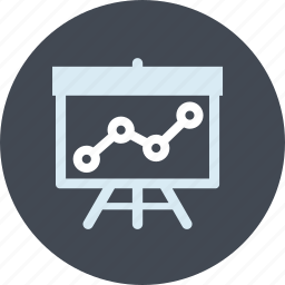 analysis, line, market, monitoring, presentation, research, seo icon
