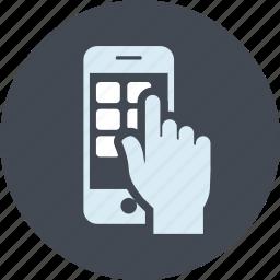app, line, mobile, seo, service, website icon