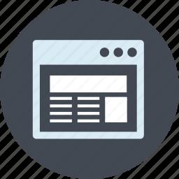 app, coding, design, development, line, optimization, website icon