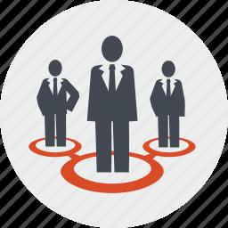 career, community, line, networking, people, team, teamwork icon