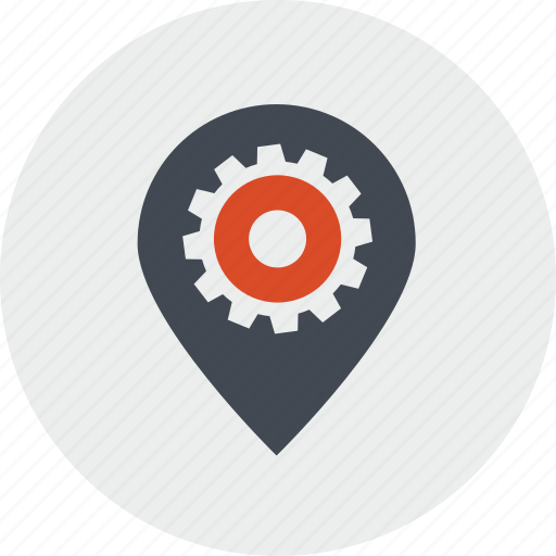 internet, line, location, navigation, optimization, pin, places icon
