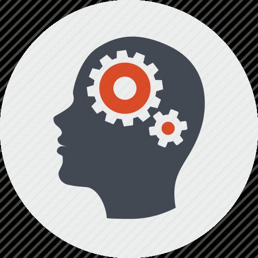 line, organization, people, planning, process, thinking icon
