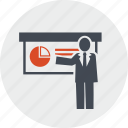 education, line, people, presentation, seo, trainings, website icon