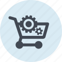 e-commerce, line, online, optimization, seo, shopping, website icon