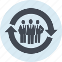 business, focus, group, line, market, marketing, research icon