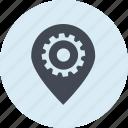 internet, line, location, navigation, optimization, pin, places