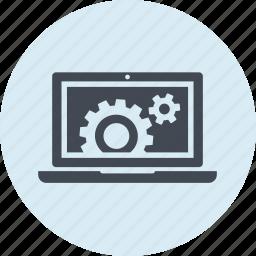 development, line, maintenance, seo, setting, utility, web icon