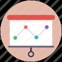 data analytics, financial analysis, market analysis, media graph, statistic campaign icon
