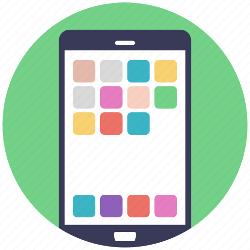 android phone, cellphone, mobile interface, mobile menu, mobiles apps icon