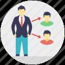 seo, social connection, social media, viral advertisement, viral marketing icon