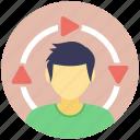 internet user, network administration, network user, user, user avatar icon