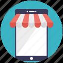 buy online, digital market, ecommerce, mobile shop, online shop icon