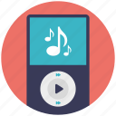 ipad, ipod, media player, mp3, multimedia icon