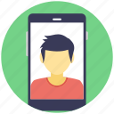 android phone, mobile camera, mobile picture, mobile with picture, video call icon