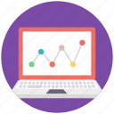 online analysis, seo performance, web analysis, web analytics, website dashboard icon