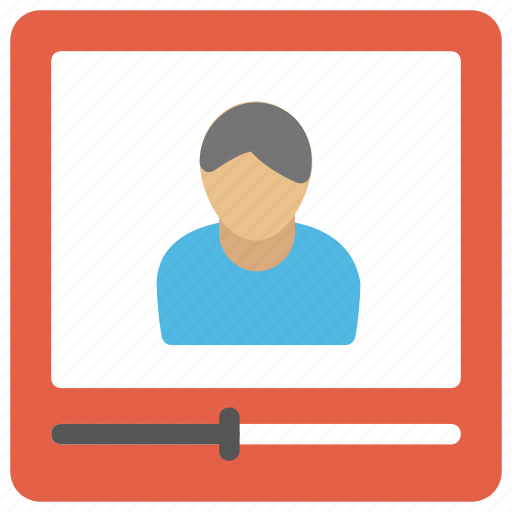 movie screen, multimedia, video call, video player, video player app icon