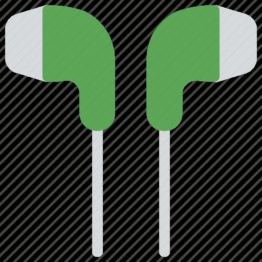 Earpod, handsfree, handsfree kit, headphone, mono earphone icon - Download on Iconfinder