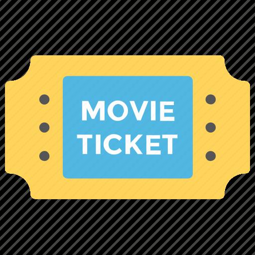 cinema ticket, movie raffle, movie ticket, theater ticket, ticket icon