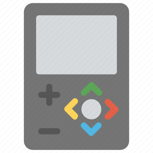 game and watch, game boy, game console, old gadget, playstation, space invader icon