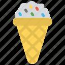 frozen food, gelato, ice cream, ice cream cone, sundae icon
