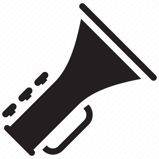 brass band, euphonium, french horn, horn, musical instrument, trombone, trumpet, tuba icon