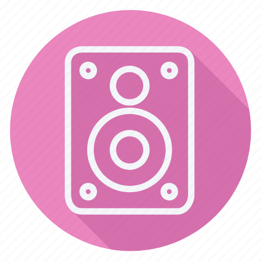 audio, media, multimedia, music, soundbox, speaker, video icon