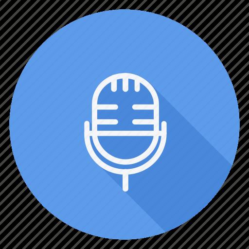 audio, media, mike, multimedia, music, speaker, video icon