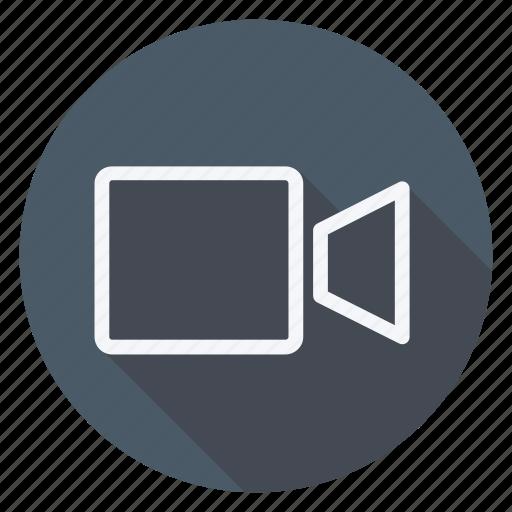 audio, camera, film, media, multimedia, photography, video icon