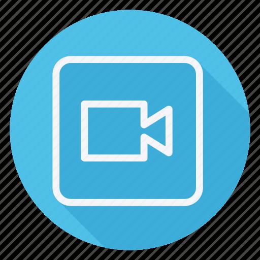 audio, camera, film, media, movie, multimedia, video icon