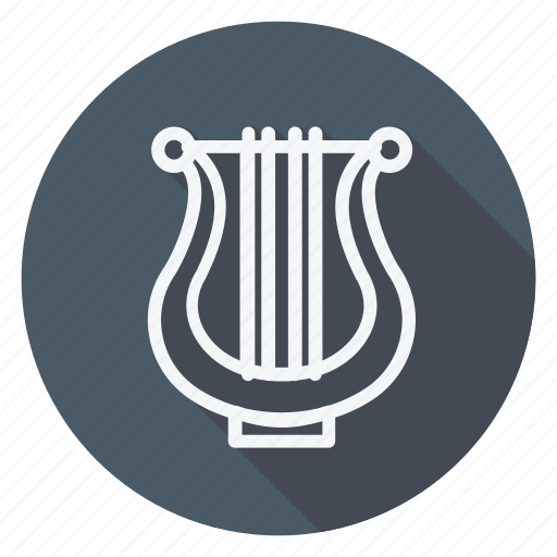 audio, lyra, media, multimedia, music, photography, video icon