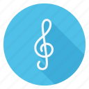 audio, media, multimedia, music, musical note, photography, video icon
