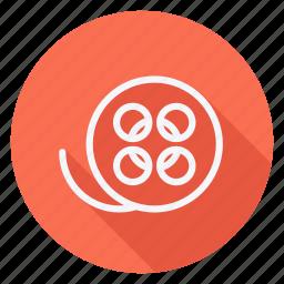 audio, filmreel, media, multimedia, music, reel, video icon
