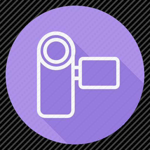 audio, camera, handycam, media, multimedia, photography, video icon