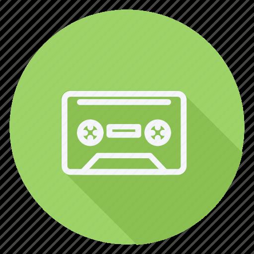 audio, cassette, media, multimedia, music, photography, video icon