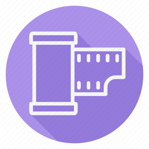 audio, film, media, multimedia, photography, reel, video icon