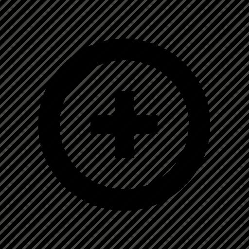 add, button, line, more, new, plus icon