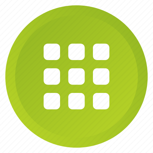 grid, group, home, list, multimedia, screen, view icon